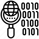 binary, bitstream, data, digital, encode