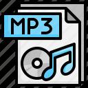 mp3, file, folder, computer, shotcut