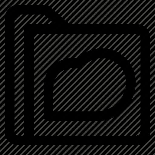 cloud, document, file, folder, format icon