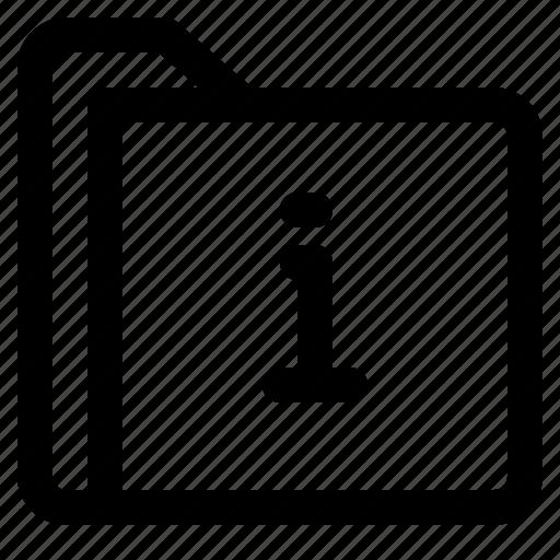 document, file, folder, format, information icon