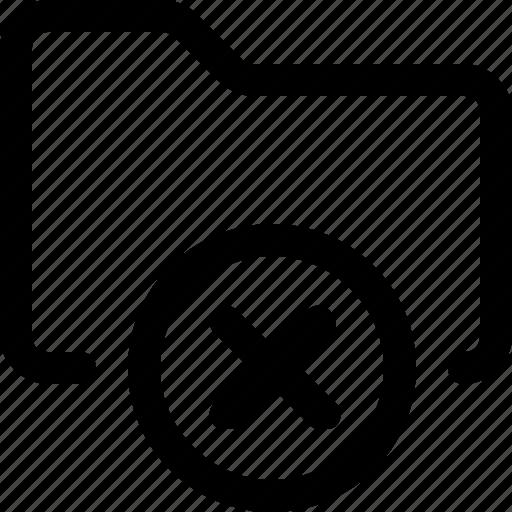 archive, data, delete, folder icon