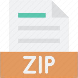 archive file, archive zip, folder, zip extension, zip folder icon