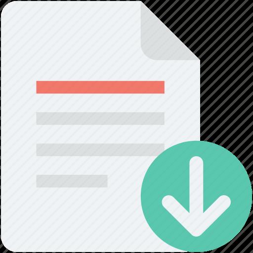 data copy, data download, download, download file, file icon