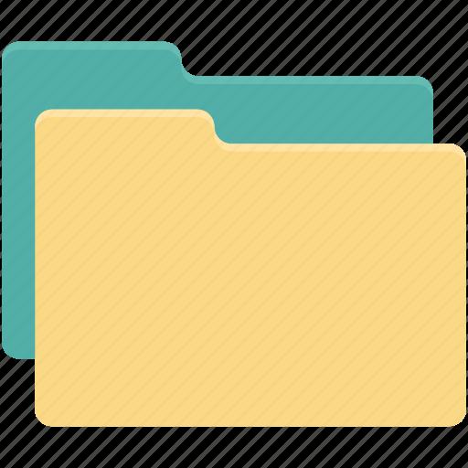 copy folder, folders, share folder, two folder icon