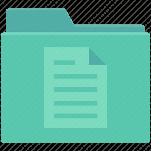 documents, files, folder, paper folder, text sheet icon