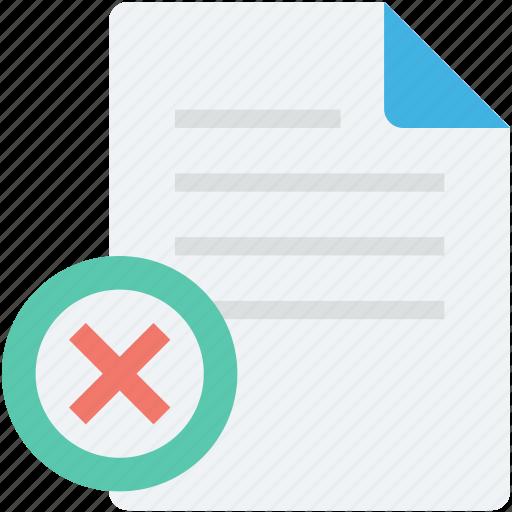 block file, cancel, cancel file, cross, restriction icon