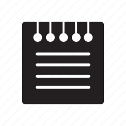 files, lines, notes icon