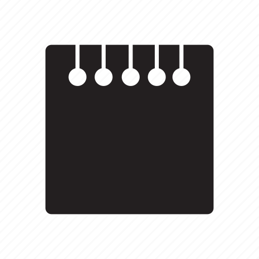 calender, files, notes icon