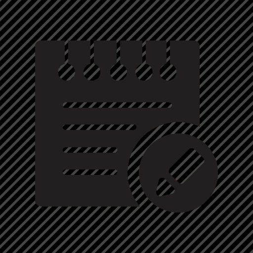 change, edit, files, notes, pen icon