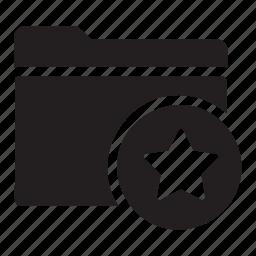 bookmark, favourite, files, folders, star icon