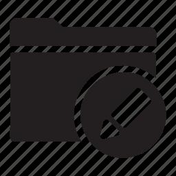 change, edit, files, folders, pen, preference icon