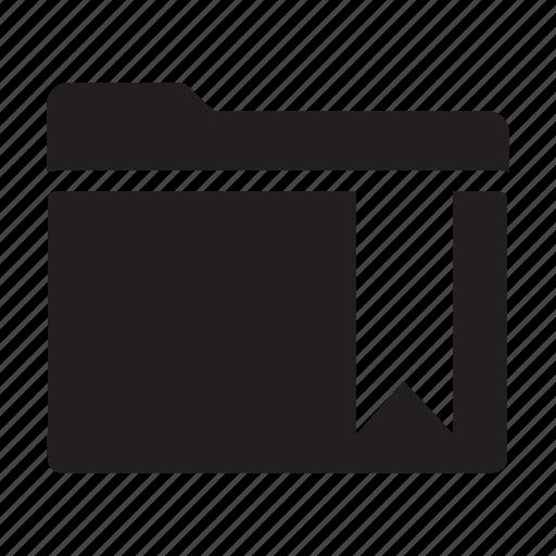 bookmark, files, folders, label, tag icon