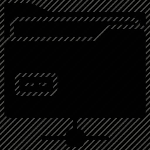 data folder, data sharing, file, folder, shared folder icon