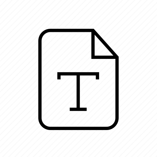 file, file font, font, font file, text, text file icon