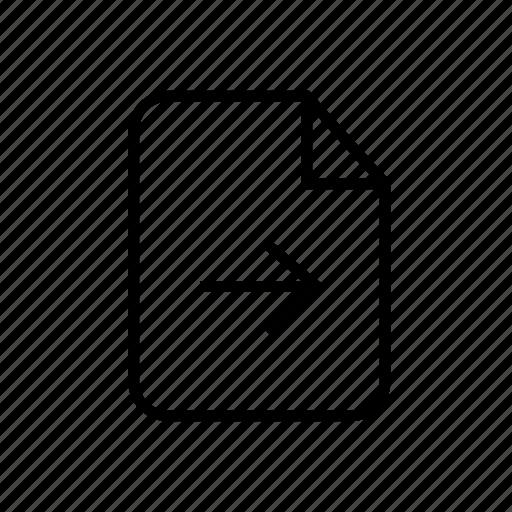 file, file forward, file next, forward, forward file, move file, next file icon