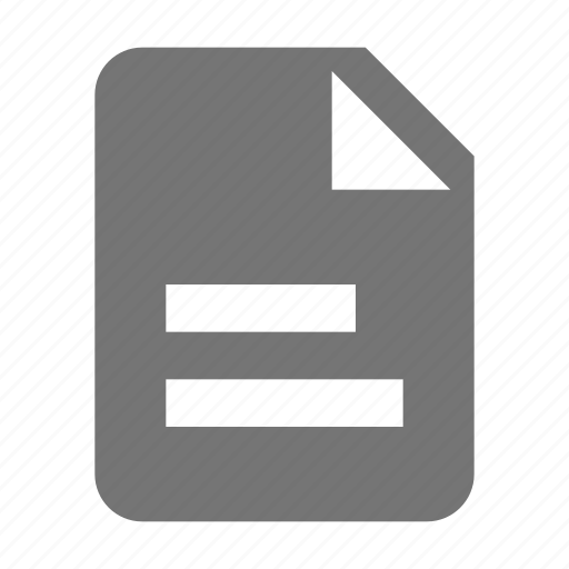 file, new, text icon