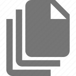 blank, documents, files icon