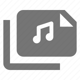 audio, files, music, sound icon