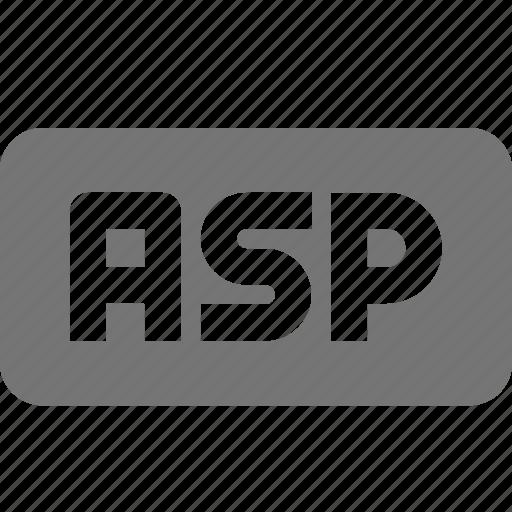 asp, coding, programming icon