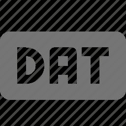 coding, dat, data, programming icon