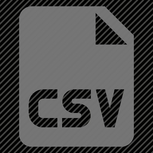 coding, csv, file, programming icon
