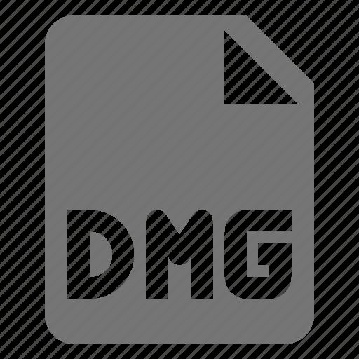 coding, dmg, file, programming icon