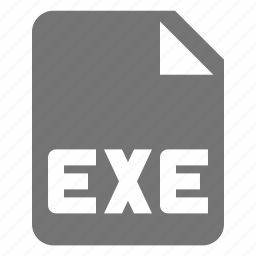 coding, exe, file, programming icon