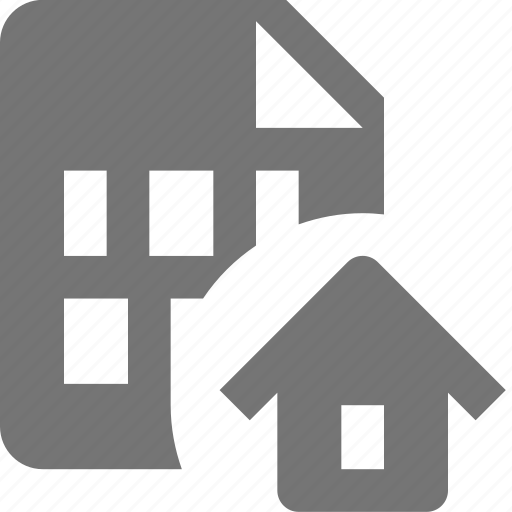 file, home, house icon