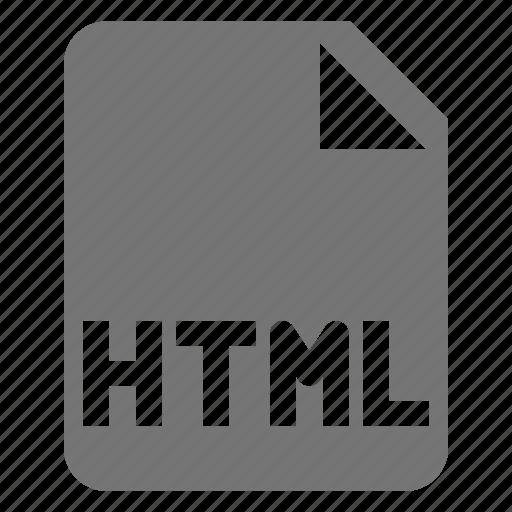 coding, file, html, programming icon