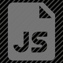 coding, file, java script, js, programming icon