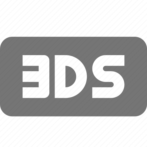 ds, extension, file, format icon