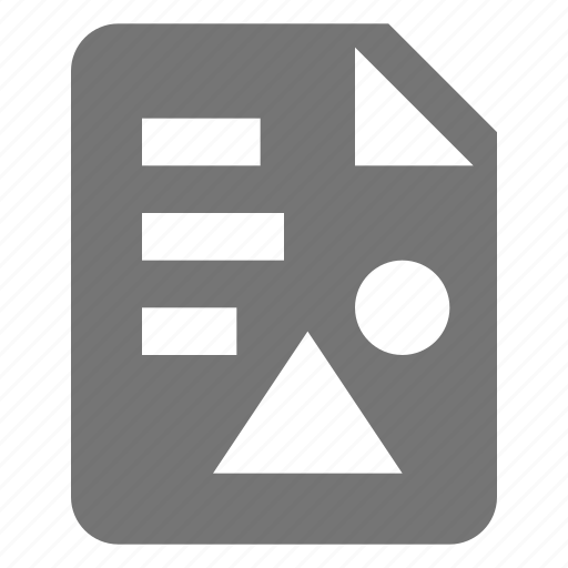 document, file, format, image, photo, text icon