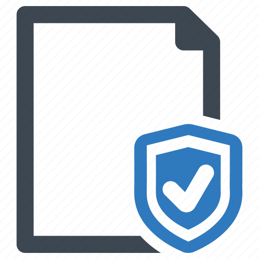 file, page, protect, protection icon