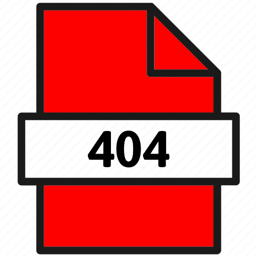 404, action, document, error, file, page, type icon