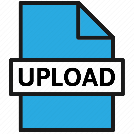 action, document, file, filetype, page, type, upload icon