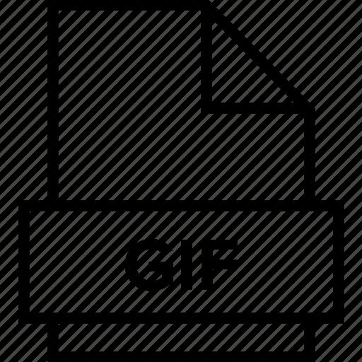 archive, document, explorer, extension, file, folder, gif icon