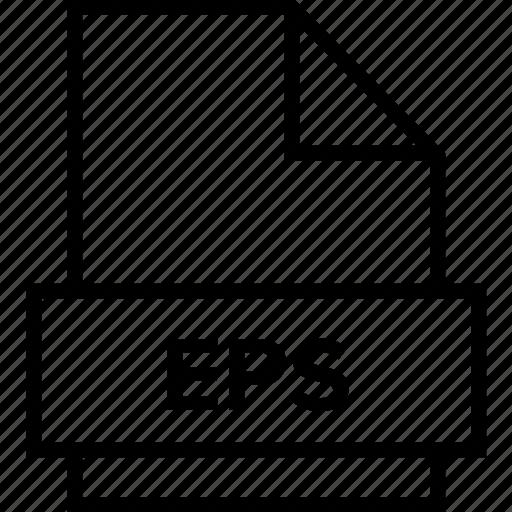 archive, document, eps, explorer, extension, file, folder icon