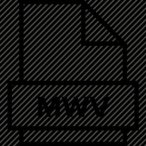 archive, document, explorer, extension, file, folder, mwv icon