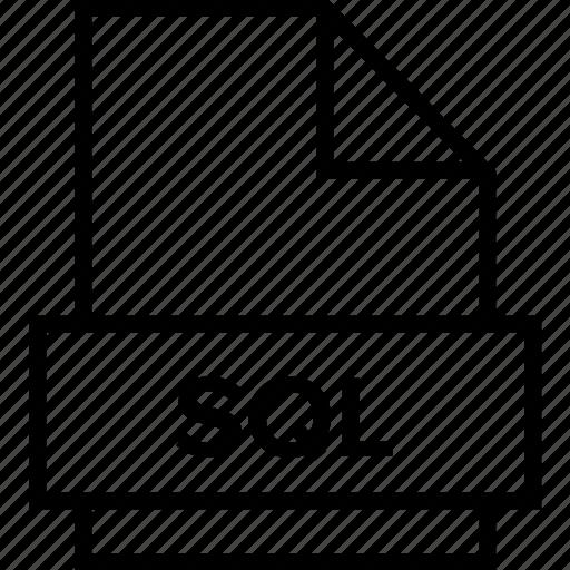 archive, document, explorer, extension, file, folder, sql icon