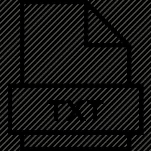 archive, document, explorer, extension, file, folder, txt icon