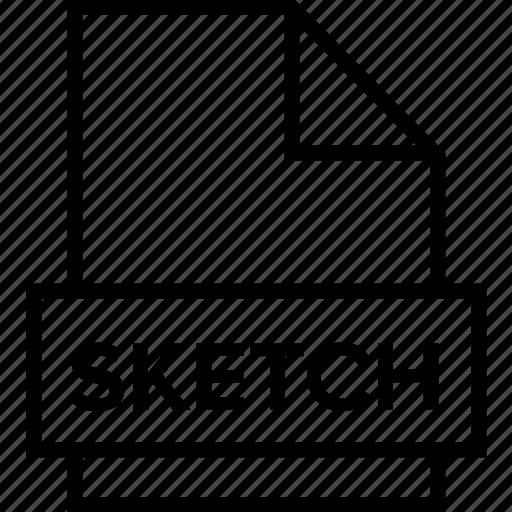 archive, document, explorer, extension, file, folder, sketch icon