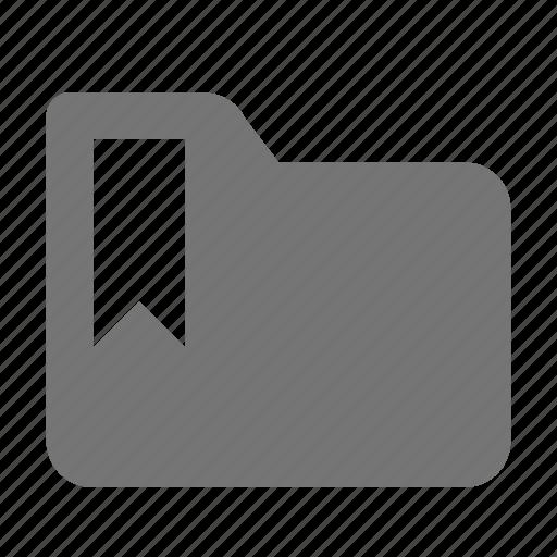 bookmark, folder, tag icon