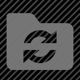folder, refresh, reload, sync icon