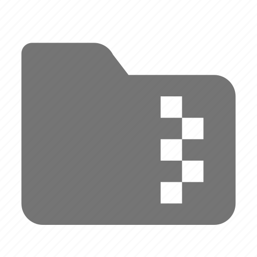 folder, zip, zipped icon