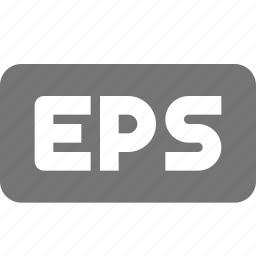 eps, extension, format, images icon