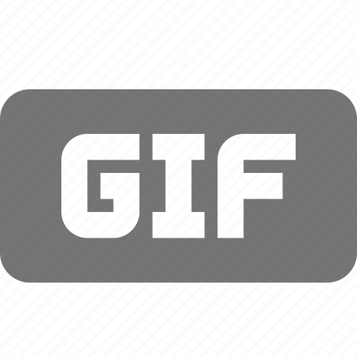 extension, format, gif, images icon