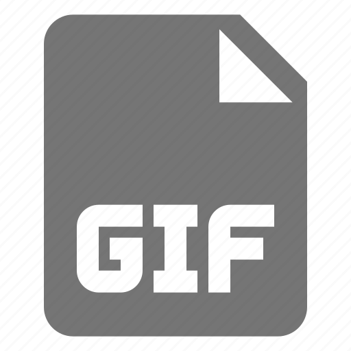 extension, file, format, gif, images icon
