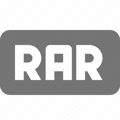 extension, format, rar icon