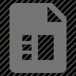 checklist, file, list icon