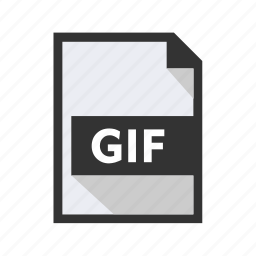 document, file, format, gif, import icon